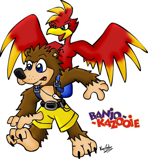 Banjo Kazooie By Krazygal Deviantart Com On Deviantart Banjo Kazooie Banjo Smash Bros