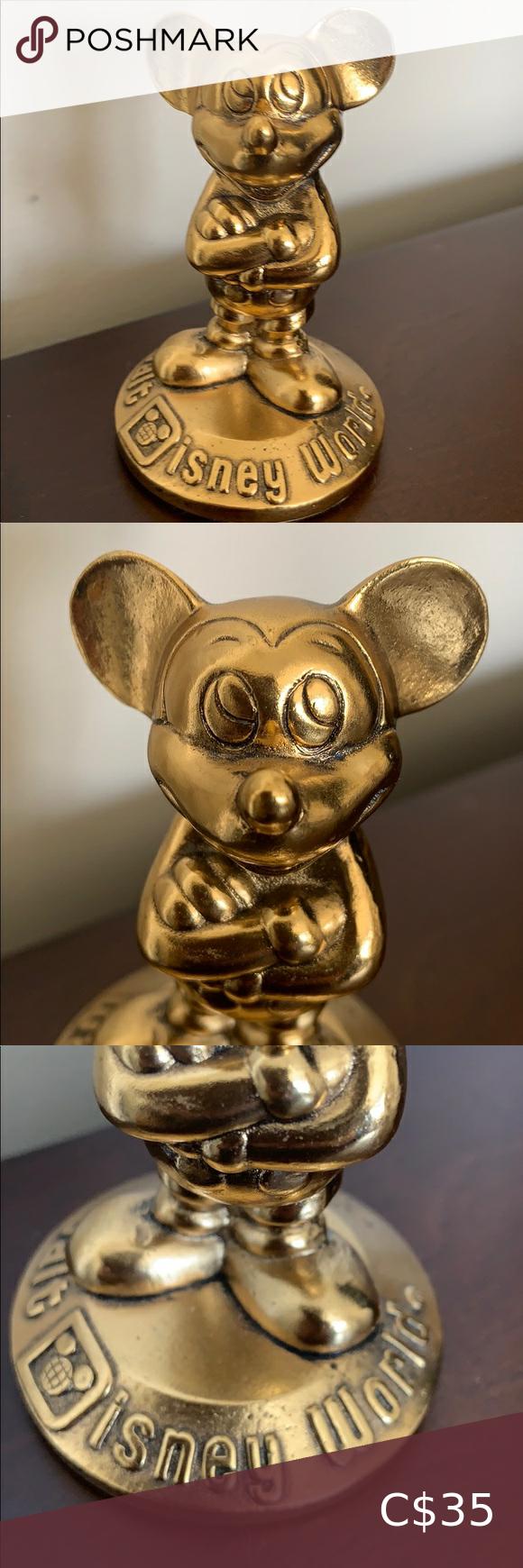 Vintage Mickey Mouse Walt Disney World Figure