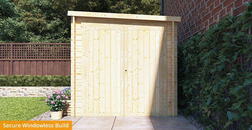 28mm Motorbike Storage Shed | Safe & Secure | Garden Buildings Direct