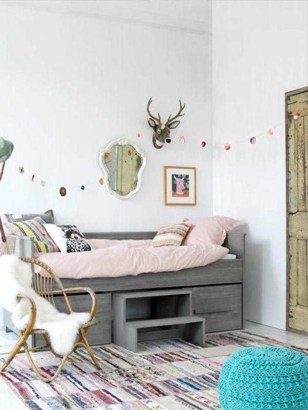 30 Ideen Für Kinderzimmergestaltung   Kinderzimmer Gestalten Ideen Deko  Wanddeko Ideen