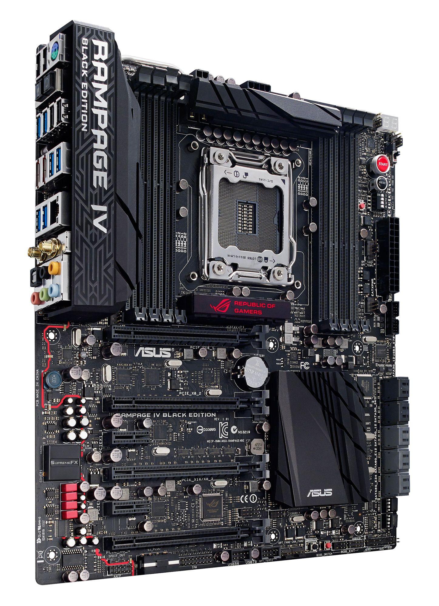 7a69d0565 Asus Rampage IV Black Edition | PC Hardware | Pc gaming setup, Pc ...