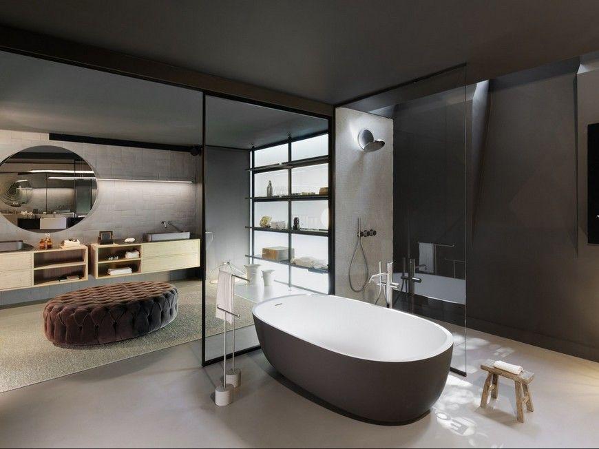 Boffi Paris Finds A New Address To Showcase Their Latest Bath Products Luxury Bathroom Showroom Interior Design Amazing Bathrooms
