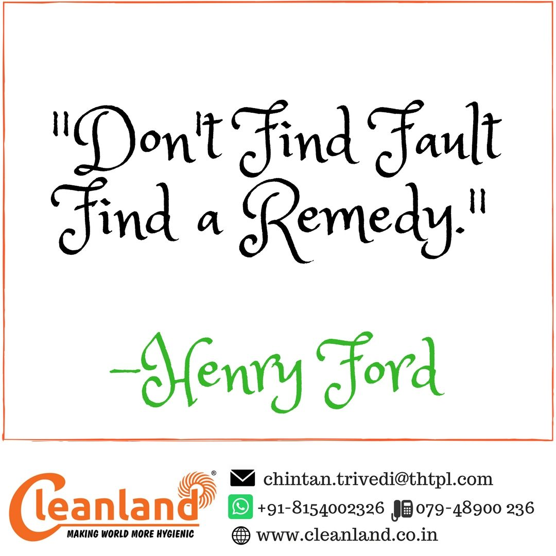 Don T Find Fault Find A Remedy Henry Ford Positive Notes