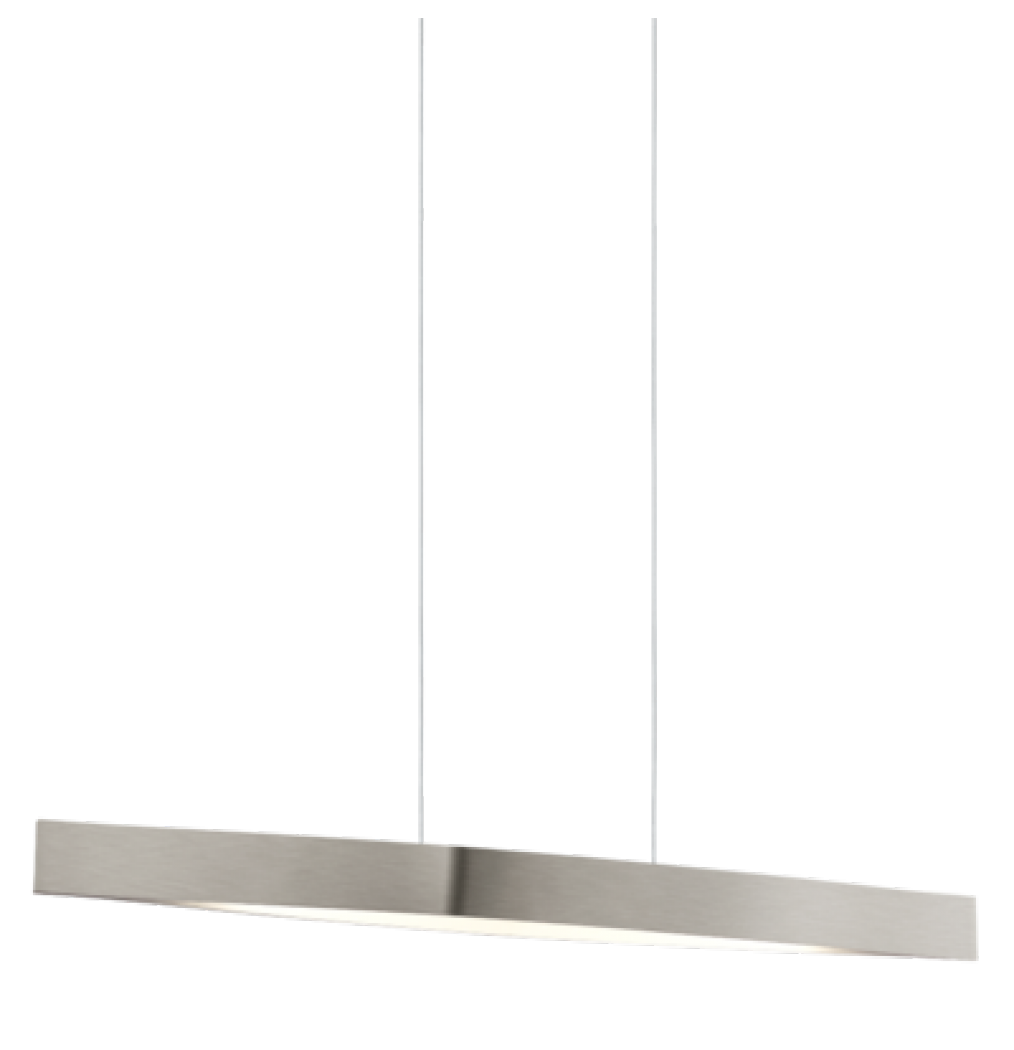 Eglo Led 24w Fornes Pendant Light In Satin Nickel Finish With Images Pendant Light Eglo Kitchen Island Pendants