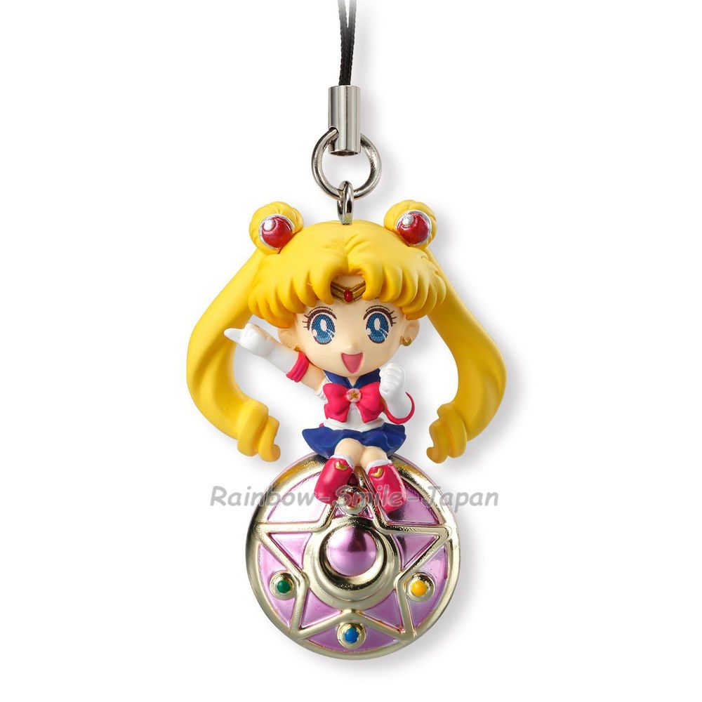 Sailor Moon Twinkle Dolly 4 Charm Phone Strap Neo-Queen Serenity on Crystal