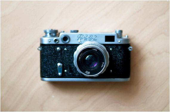 Vintage Soviet Camera  FED2  working condition by CuteOldThings, $52.00