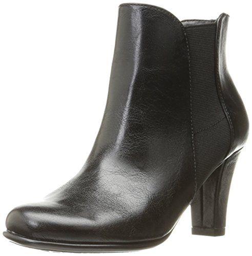 A2 by Aerosoles Women's Strole Along Boot, Black, 9 M US. Boot. Double padded memory foam insole. Sueded sock insole. Diamond pattern sole. Heel rest technology.