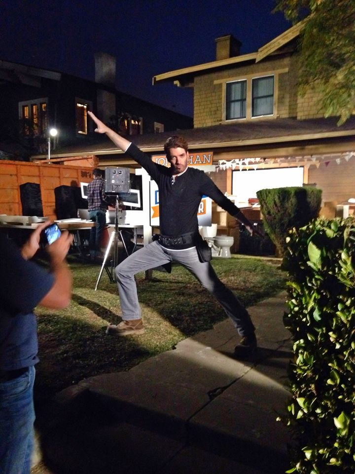 """Stayin alive on #BROvsBRO! Lol"" - Jonathan Scott"