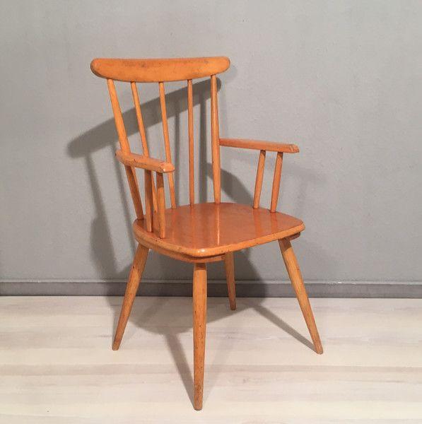 Vintage Stühle - Kinderstuhl von Herlag *Mid Century - ein ...