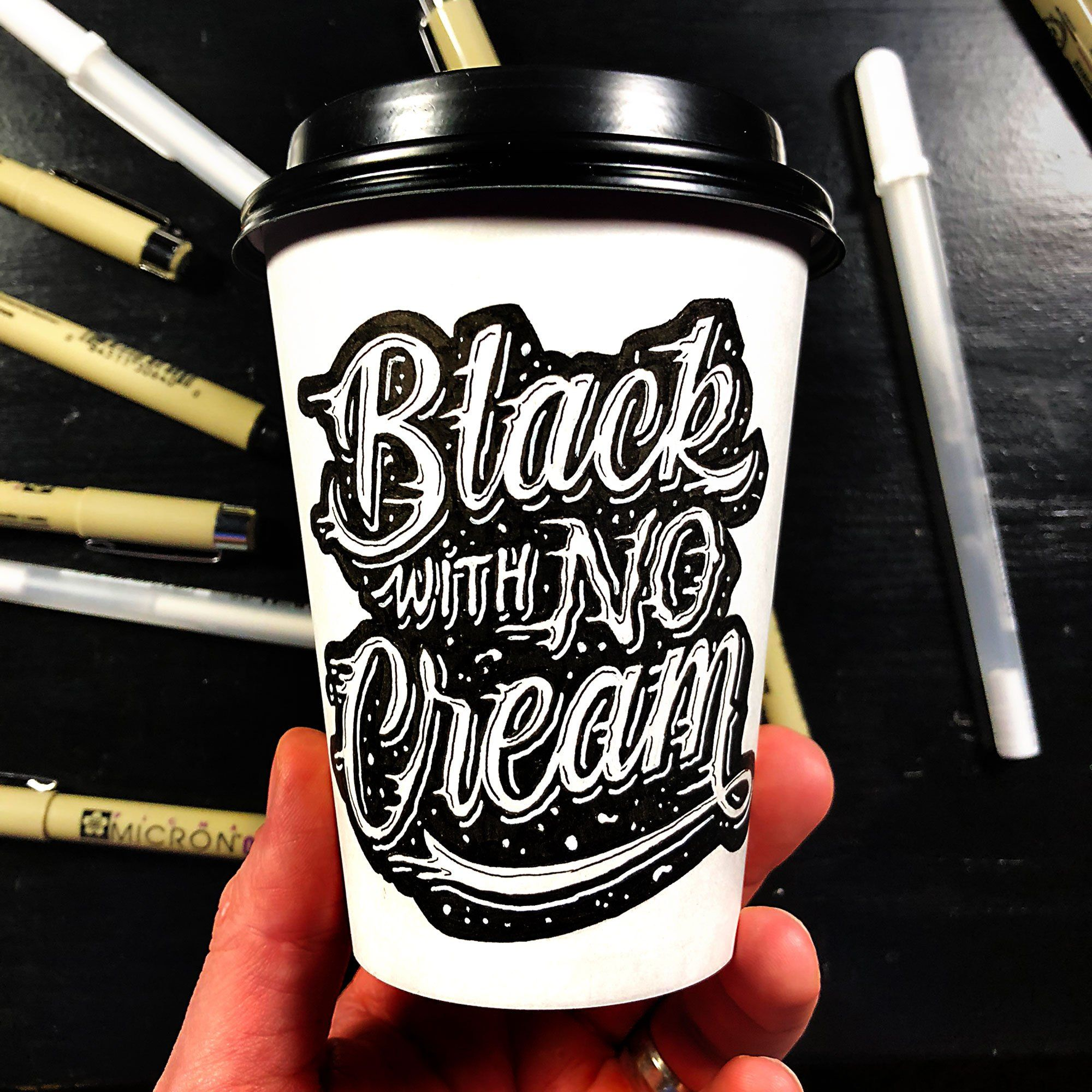 Sometimes You Need To Express Your Love For Black Coffee