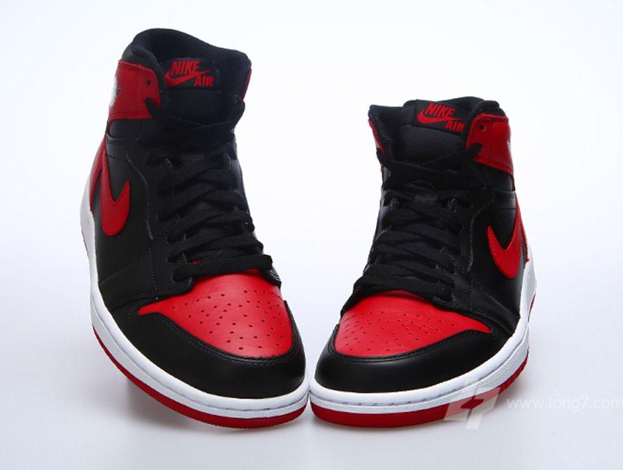 air jordan 1 black and red