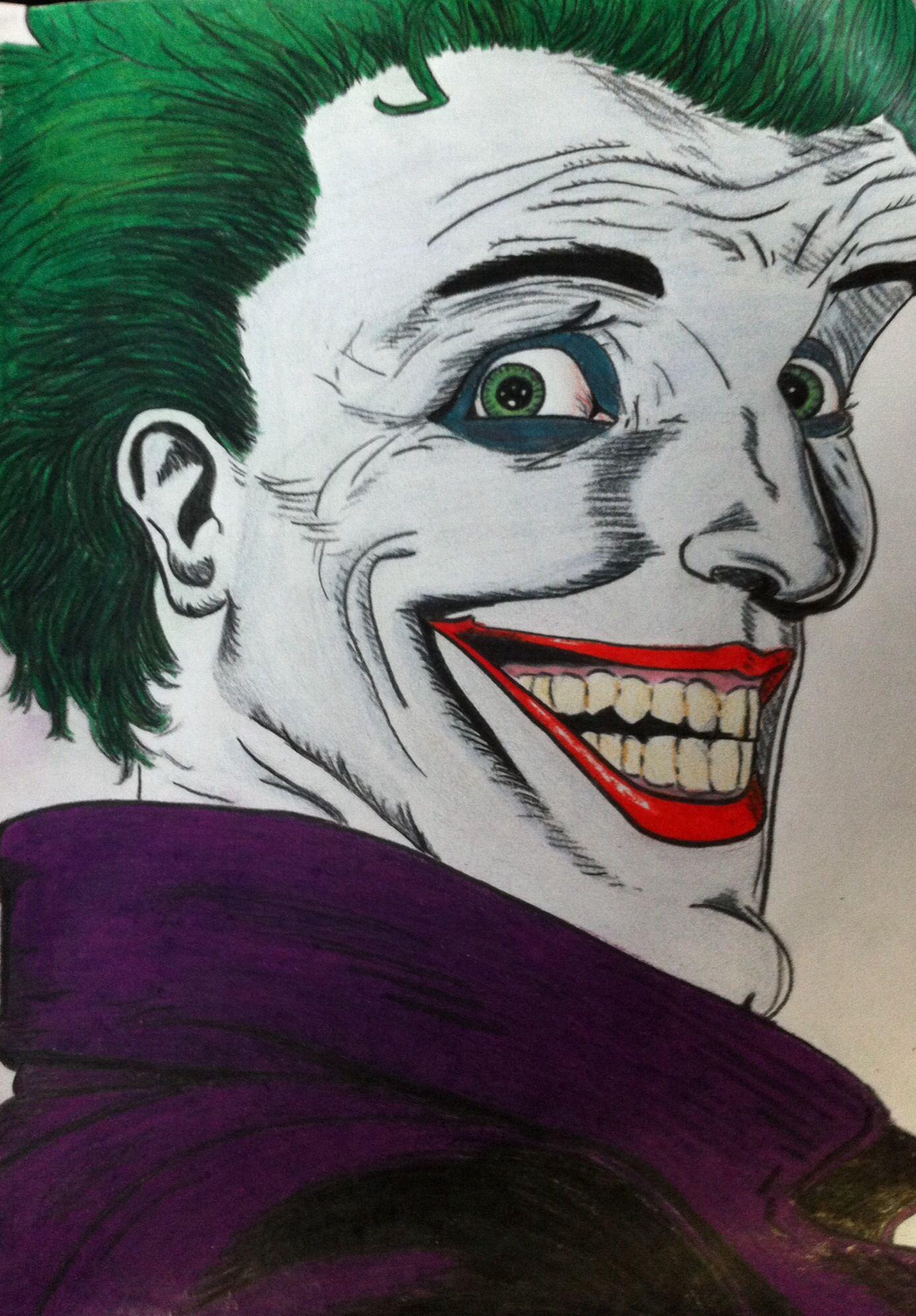 My drawing of the joker. | Art | Drawings, Joker drawings ...