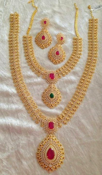 Indian Jewellery and Clothing: Beautiful Gold Coated ...