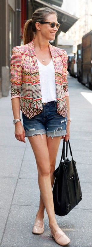 Street Chic: pattern jacket