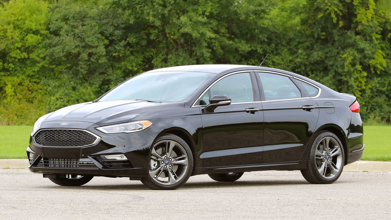 First Drive 2017 Ford Fusion V6 Sport Ford Fusion Fusion Sport Ford