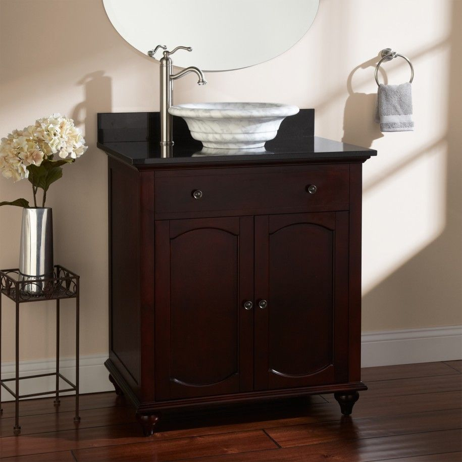 Superb Depiction Of Small Bathroom Vanities With Vessel Sinks To Create Cool And  Stylish Vibes For Your Tiny Bath Room Ideas