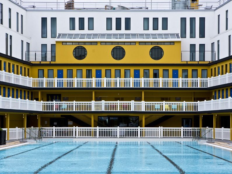 piscine molitor is a swimmingpool and hotel complex located in  reviving life of pi swimming pool piscine molitor alto magazine