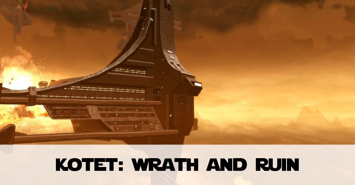 The explosive opening chapter to SWTOR's Knights of the Eternal Throne - Wrath & Ruin as Vaylin burns the Force Neutral world of Voss.