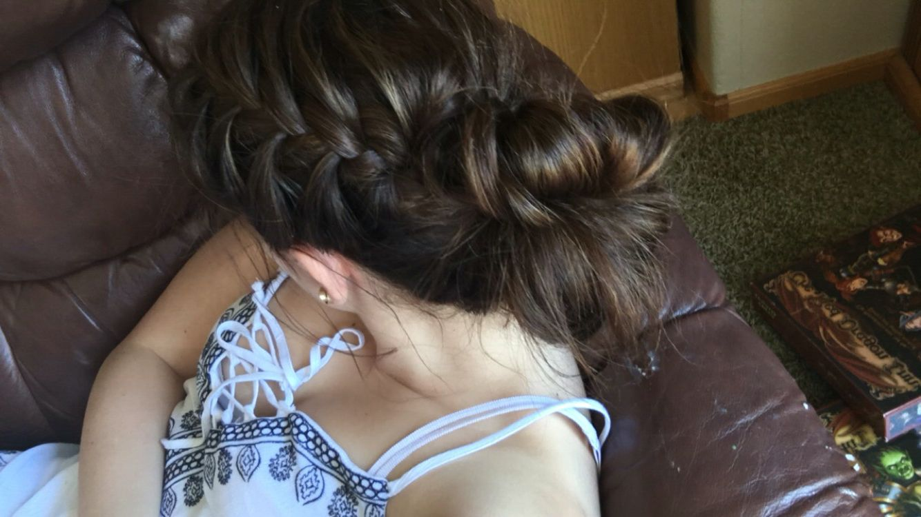 Cute summer hairstyle hair pinterest