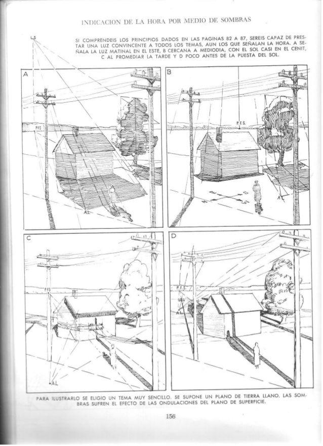 Andrew Loomis Dibujo Tridimensional Clases De Dibujo En Perspectiva Arte En Perspectiva Dibujo Con Perspectiva
