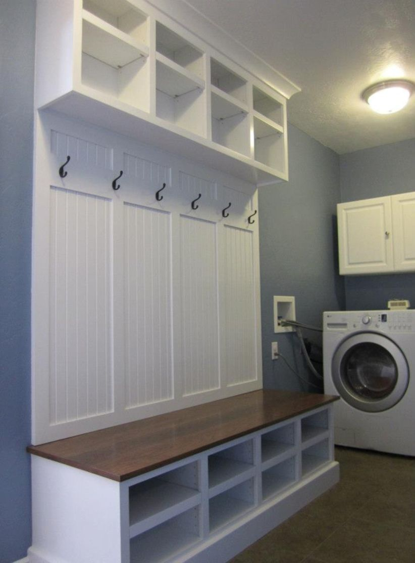 Photo of 46 DIY Ideas for your Laundry Room Organizer – GODIYGO.COM