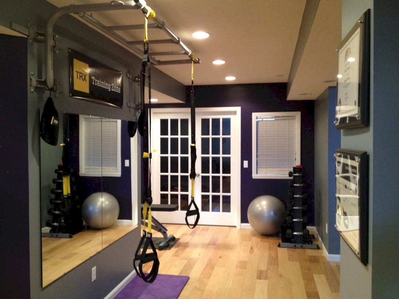 Awesome 30 Beautiful Fitness Room Ideas #beautiful #