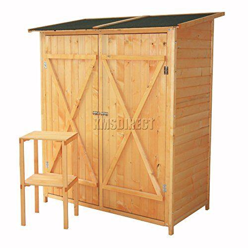 Foxhunter Outdoor Garden Tool Shed Wood Tool Storage Log Https Www Amazon Co Uk Dp B01gqkc2je Ref Cm Sw R Pi Dp X Jojxxbd4cwyn6