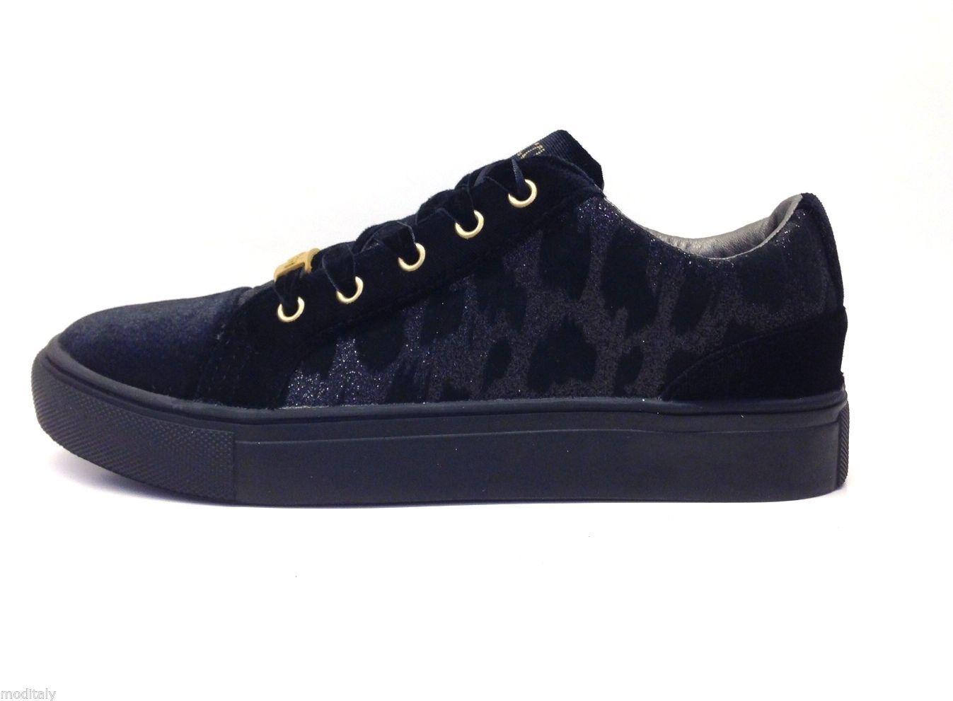 premium selection 6e8c2 7864e FIORUCCI scarpe donna SNEAKERS FDAH040 LACCI velluto ...