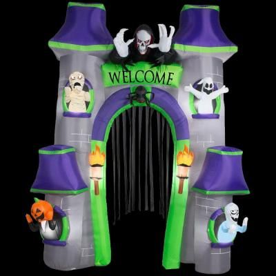 Home Accents Holiday 8386 in W x 3543 in D x 120 in H - lowes halloween inflatables