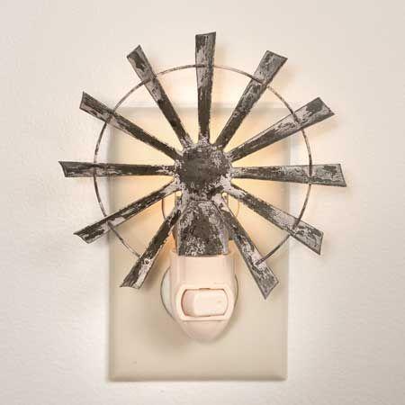 Photo of Mason Jar Night Light – Windmill