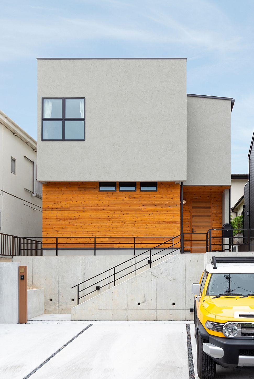 吹き抜けと屋上を設けた開放感のある家 施工実績 愛知 名古屋 岐阜