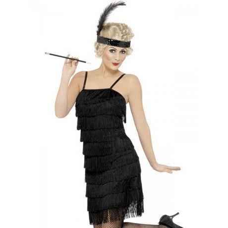 Con frange e anni 1920 20 Costume Charleston Ragazza Gatsby Donna Fancy Dress Outfit