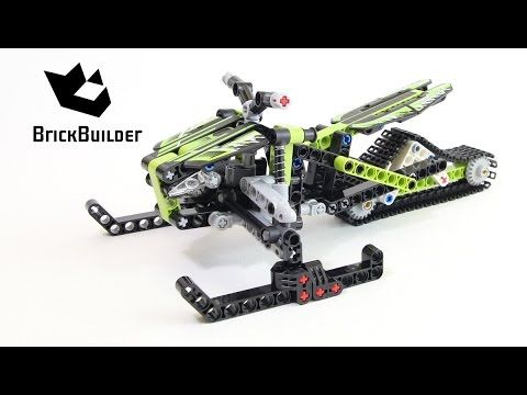 Lego Technic 42021 Snowmobile Lego Speed Build Lego Pinterest