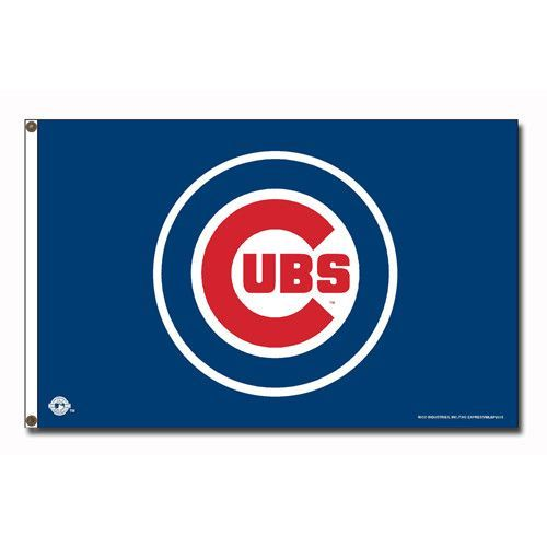 Chicago Cubs MLB 3x5 Flag