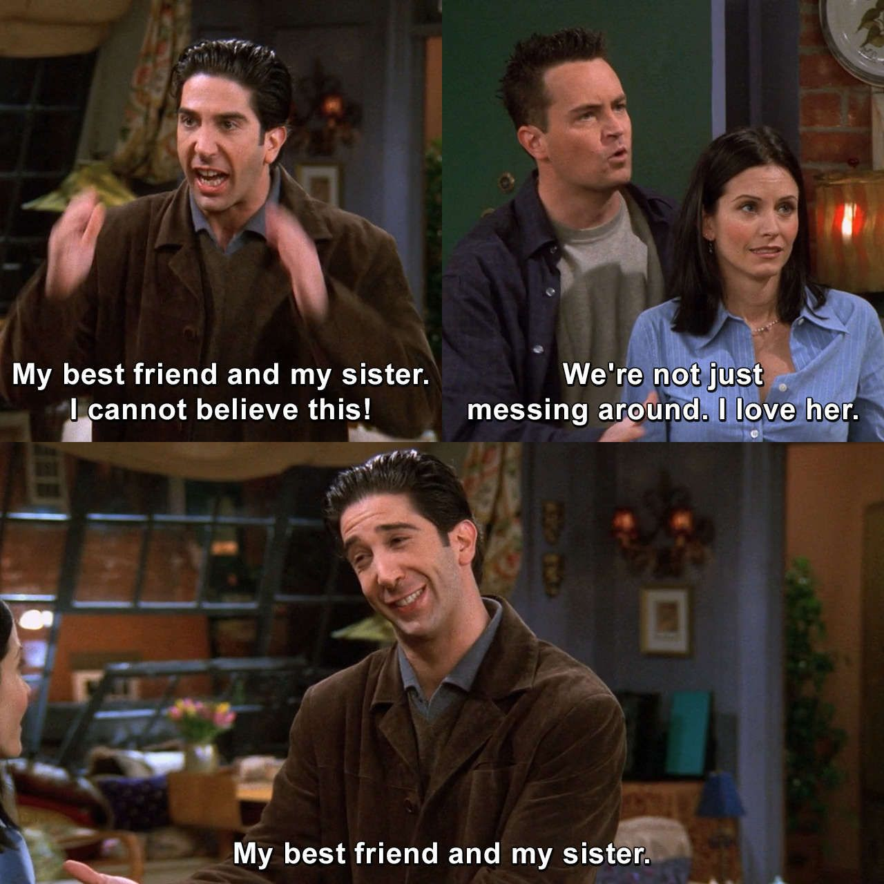 Friends - The One With The Girl Who Hits Joey #RossGeller ...