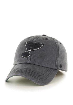 online store 01559 4fd5a STL Blues  47 Mens Grey Sachem `47 Franchise Fitted Hat