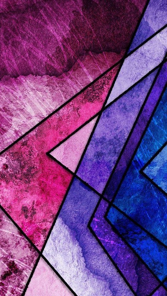 Pink Purple Geometric Wallpaper Purple geometric