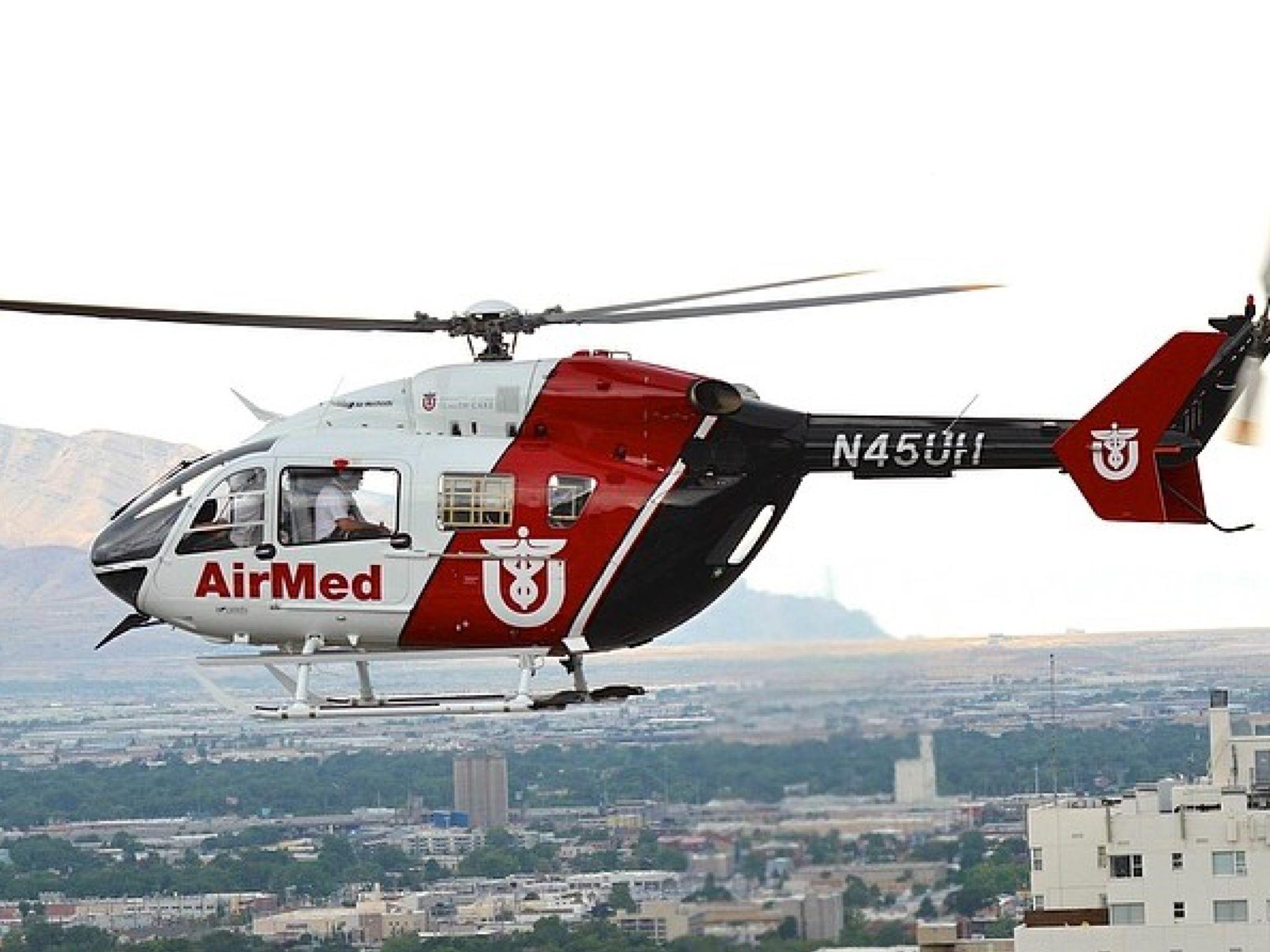 University Of Utah Air Med Life Flight Helicopter Helicopter Flight Paramedic