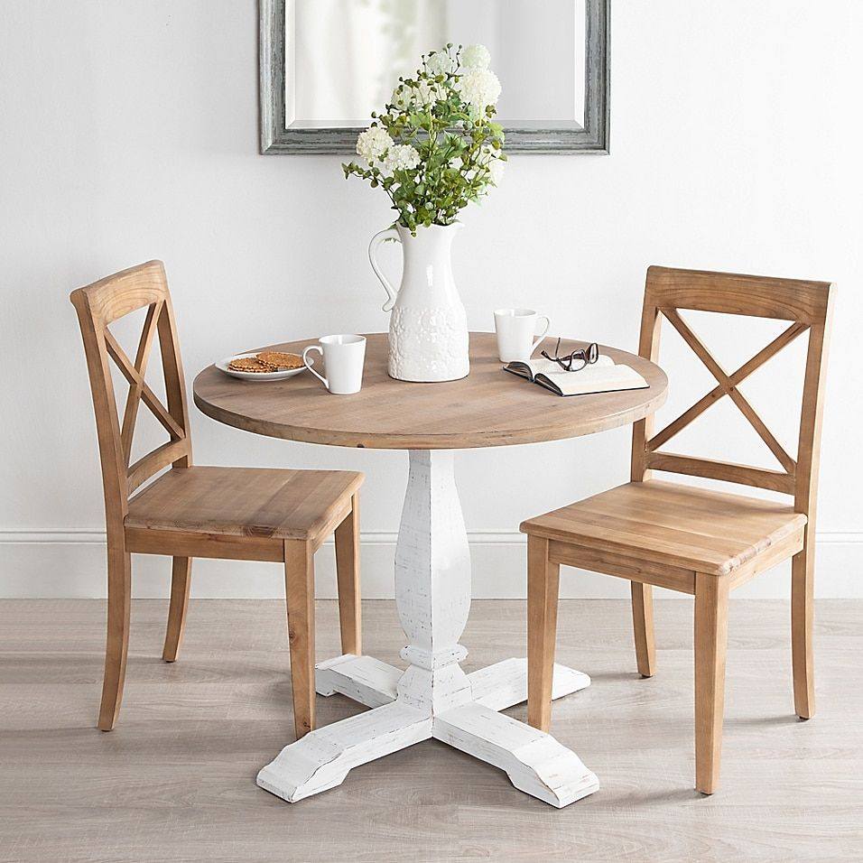 Kate And Laurel Bellmead Dining Table Bed Bath Beyond In 2020 Dining Room Small Small Dining Room Table Small Dining Table