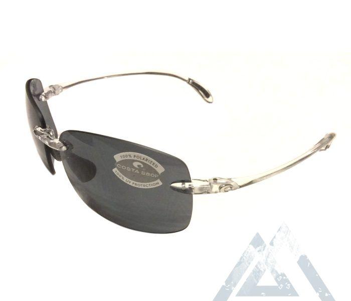 af9ad9256e Costa Del Mar Destin Sunglasses - Crystal - Polarized Dark Gray - 580P I  NativeSlope.