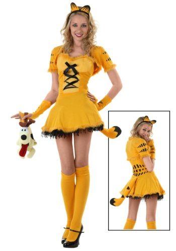 Womens Garfield Halloween Costume  sc 1 st  Pinterest & Womens Garfield Halloween Costume | Sexy Halloween Costumes ...