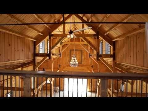 Sand Creek Post Beam California Party Barn Youtube Barns