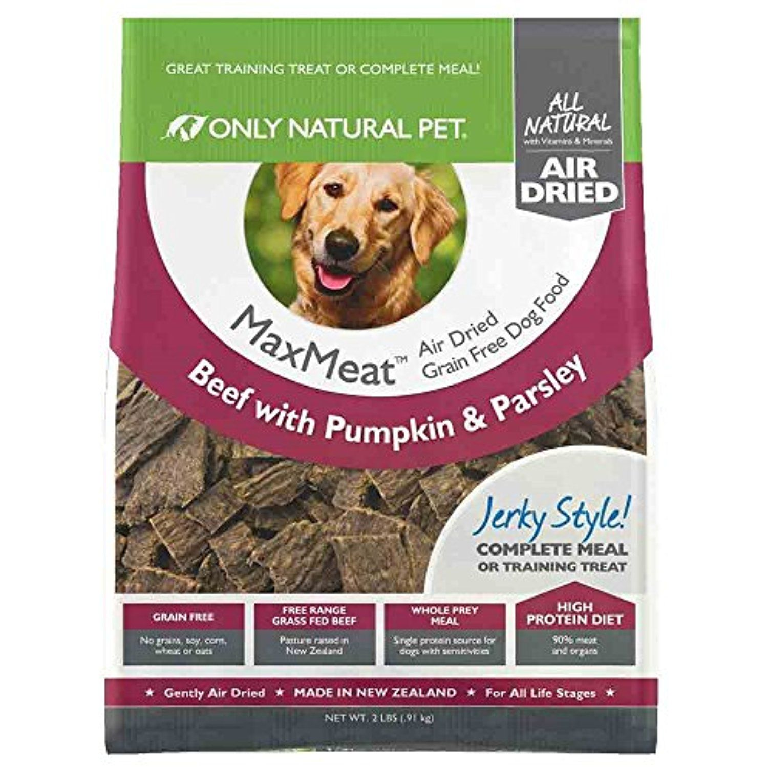 Only Natural Pet Maxmeat Holistic Grain Free Air Dried Dry Dog