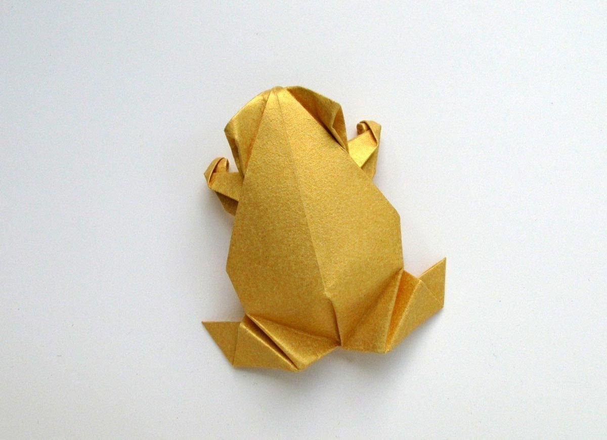 Pre Columbian Style Origami Frog Fun Pinterest Flowers Instructions Diagrams Tutorial Paper Crafts