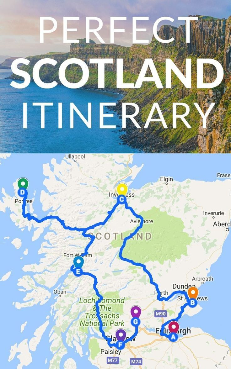 If you're visiting Scotland and you're not sure where to start or what to do, this Scotland Itinerary will guide you through the country and help you see the most on your trip with ease.