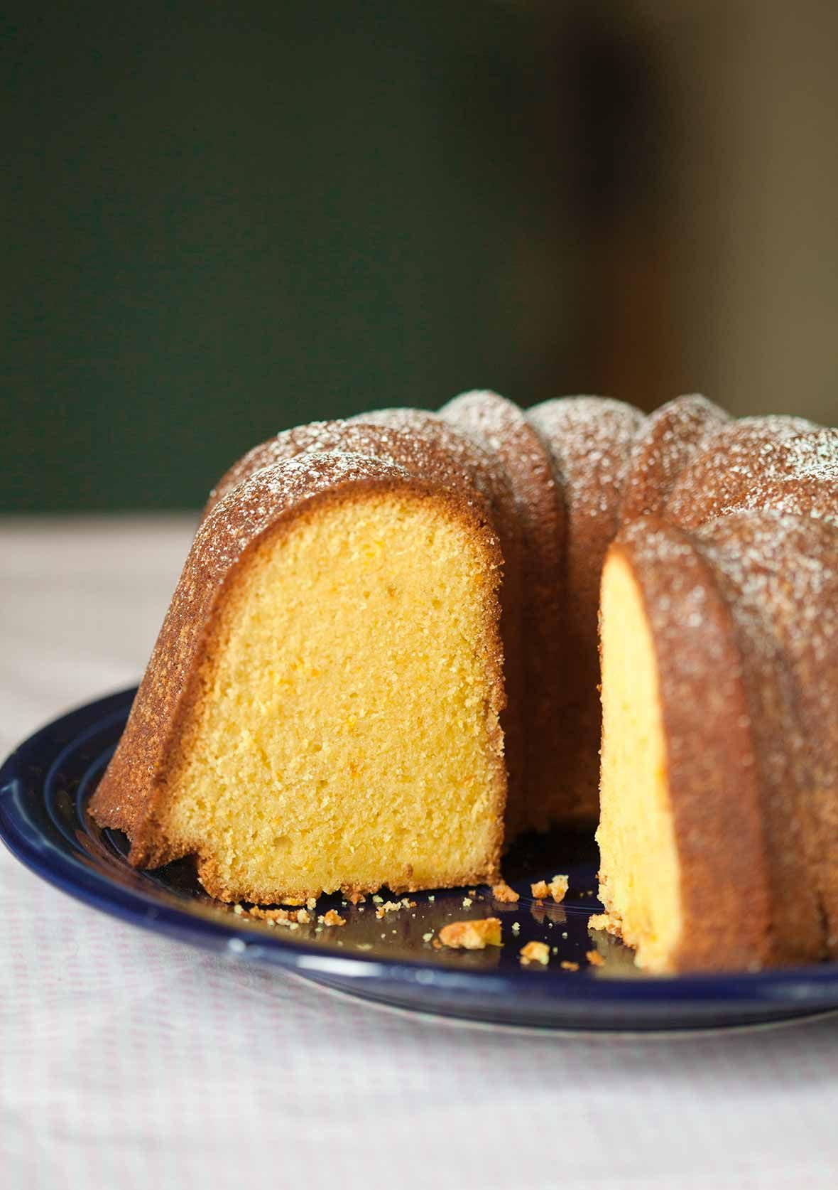 Portuguese Orange Olive Oil Cake #oliveoils