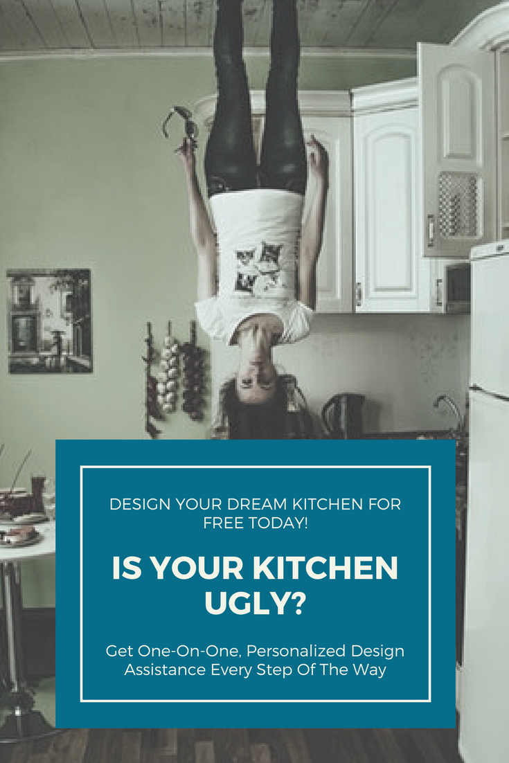 Do you have an ugly kitchen? Did you know that it only takes 3 steps ...