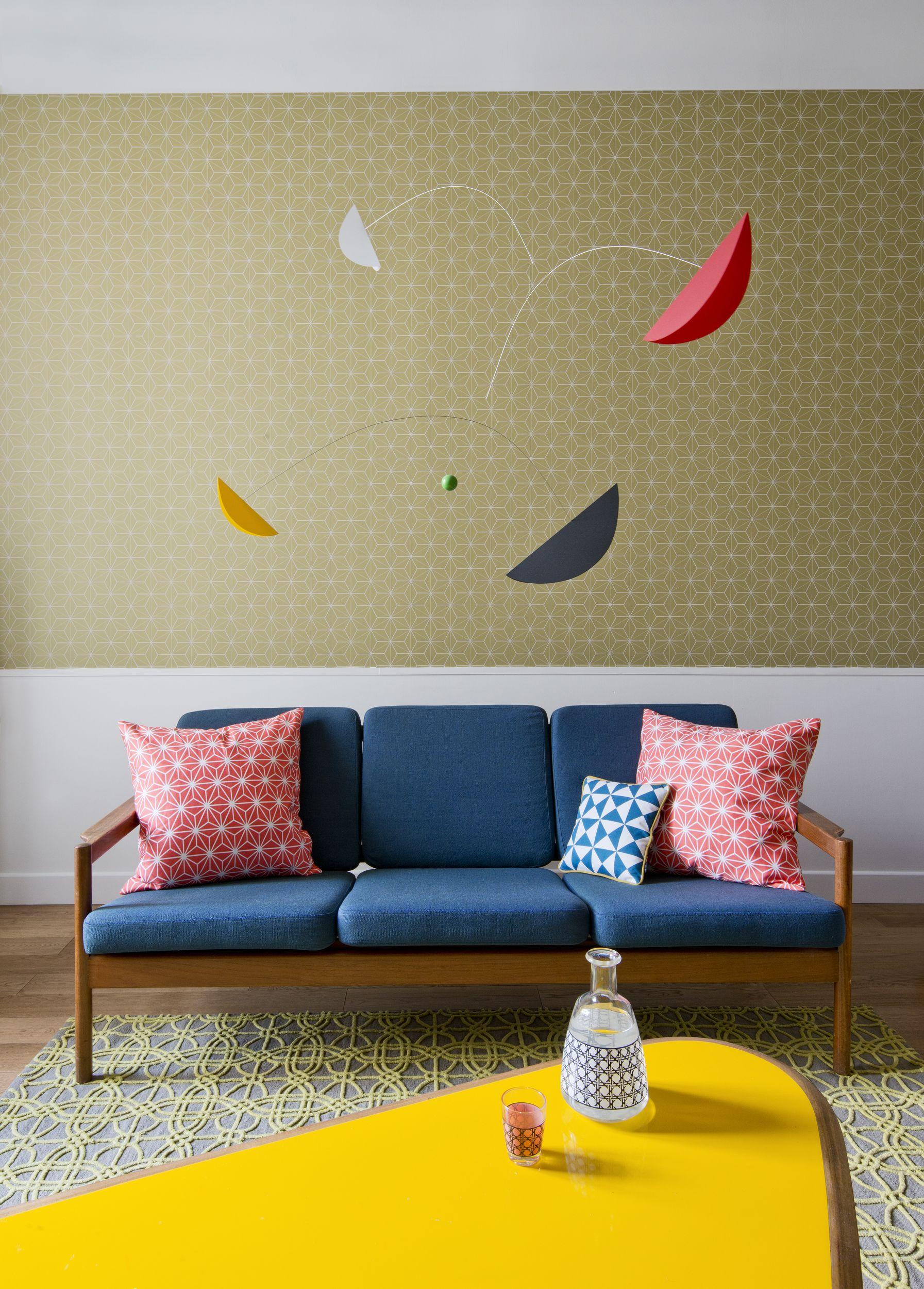 Laurent L. - Rencontre un Archi décoration montage d\'un salon - bleu ...