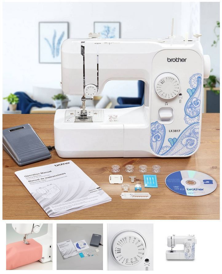 Brother Lx3817 Sewing Machine