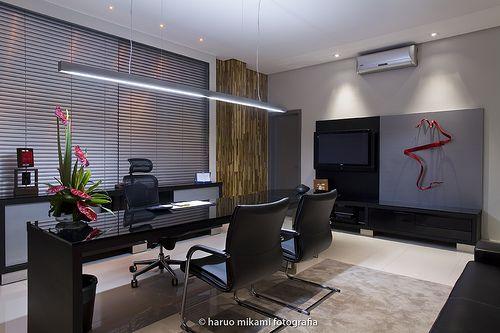 Escrit rio moderno office pinterest escritorio for Escritorios modernos